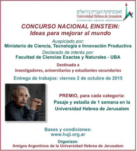 Concurso Einstein