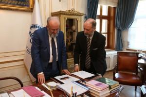 2015-Eduardo con el Gran Mufti