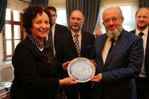 2015-Susana con el Gran Mufti